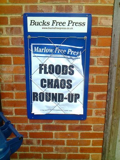 Marlow Free Press banner